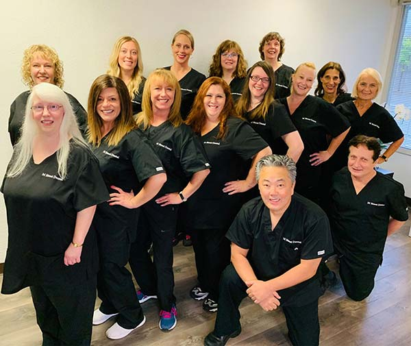 M Street Dental staff and doctors picture